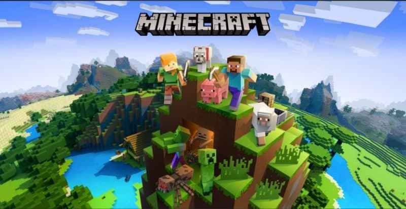 Fondo de jugadores de Minecraft