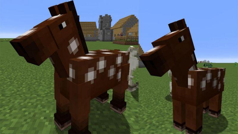 caballos de minecraft