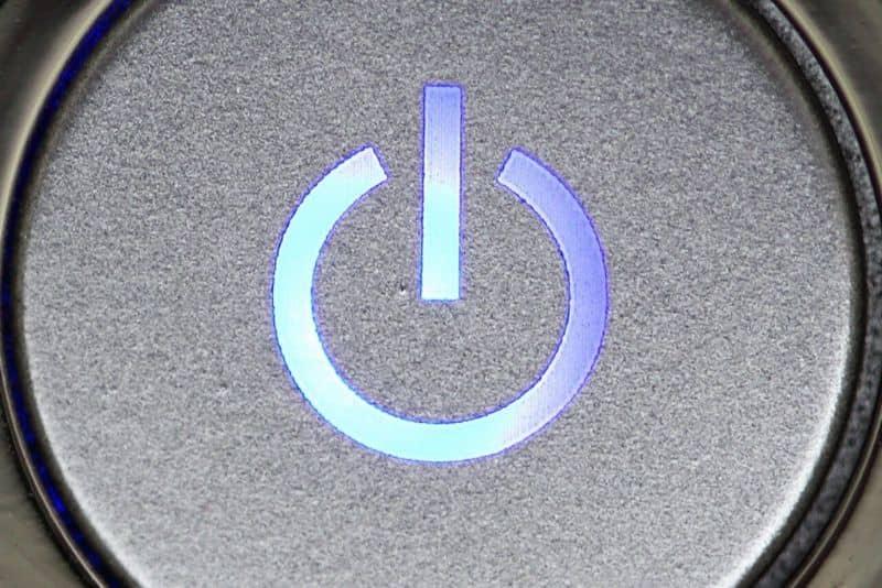 Reparar el botón de encendido