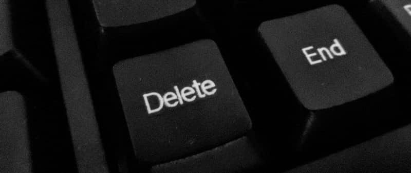 Eliminar tecla del teclado