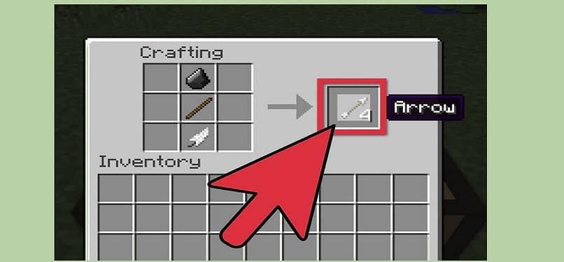 flechas originales de minecraft