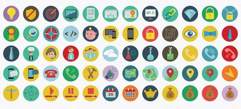 crear iconos planos de Adobe Illustrator