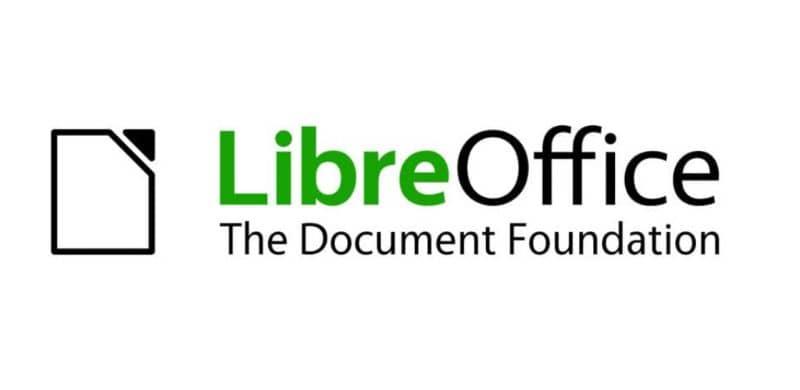 Logotipo de LibreOffice, fondo blanco