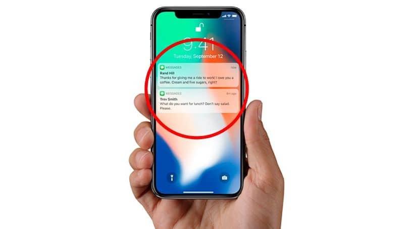pantalla de bloqueo de iphone