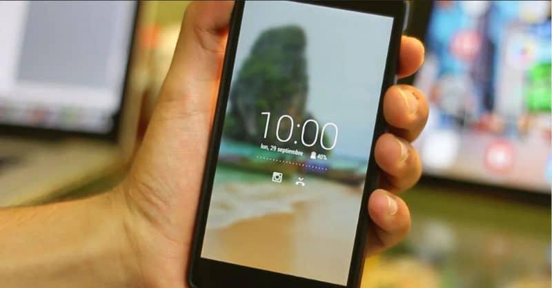 Bloqueo de pantalla de mi teléfono móvil Android