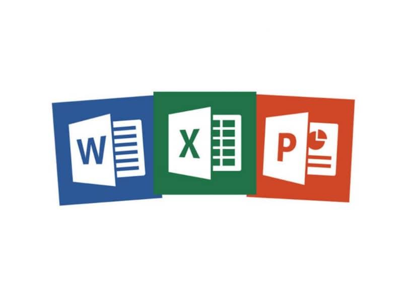 Logotipos de Word Excel y Power Point