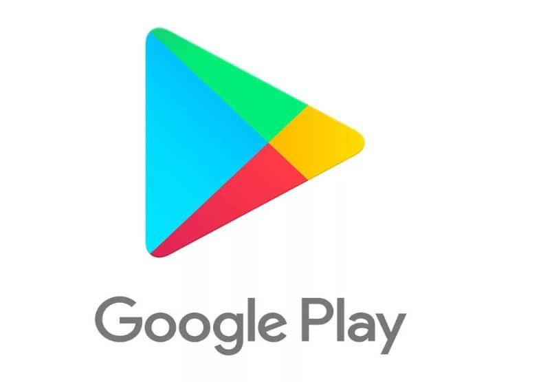 google play logo fondo blanco