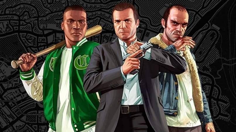 cinco personajes