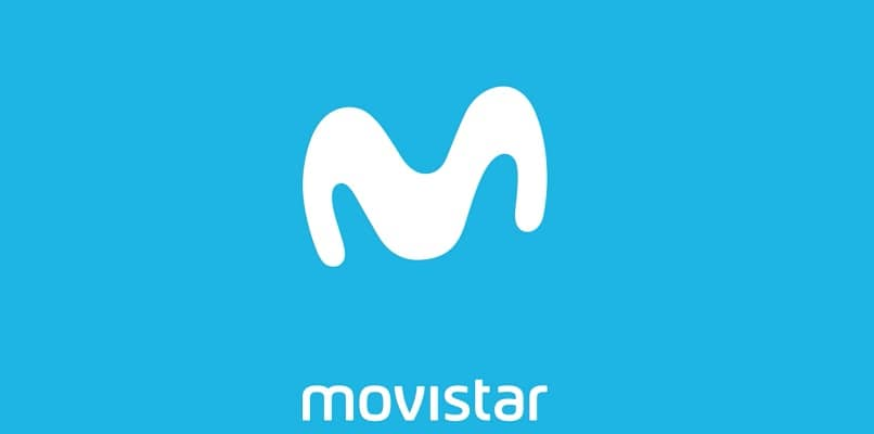 logo de movistar en blanco