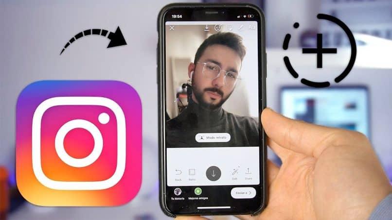 poner cara de instagram